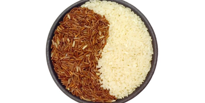 تفاوت برنج قهوه ای و برنج سفید