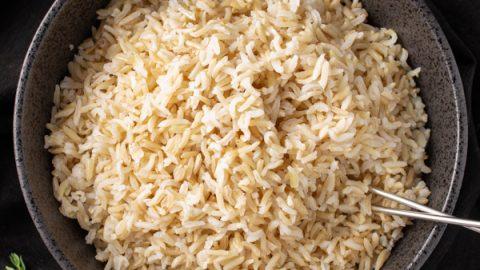 بهترین روش پخت برنج قهوه ای