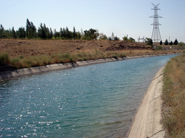 کانال های آبرسانی شالیزارهای استان گیلان